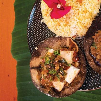 Steamed tofu recipe